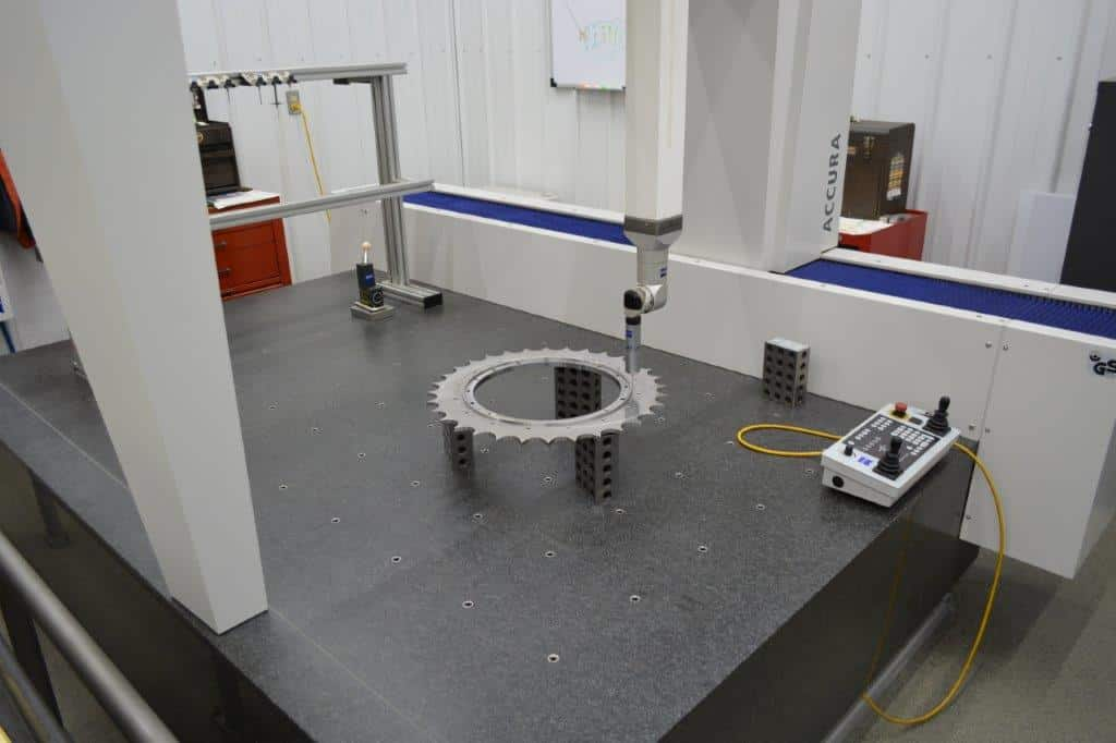 Read more about the article CMM Inspection Helps Robinson Metal Authenticate Accuracy