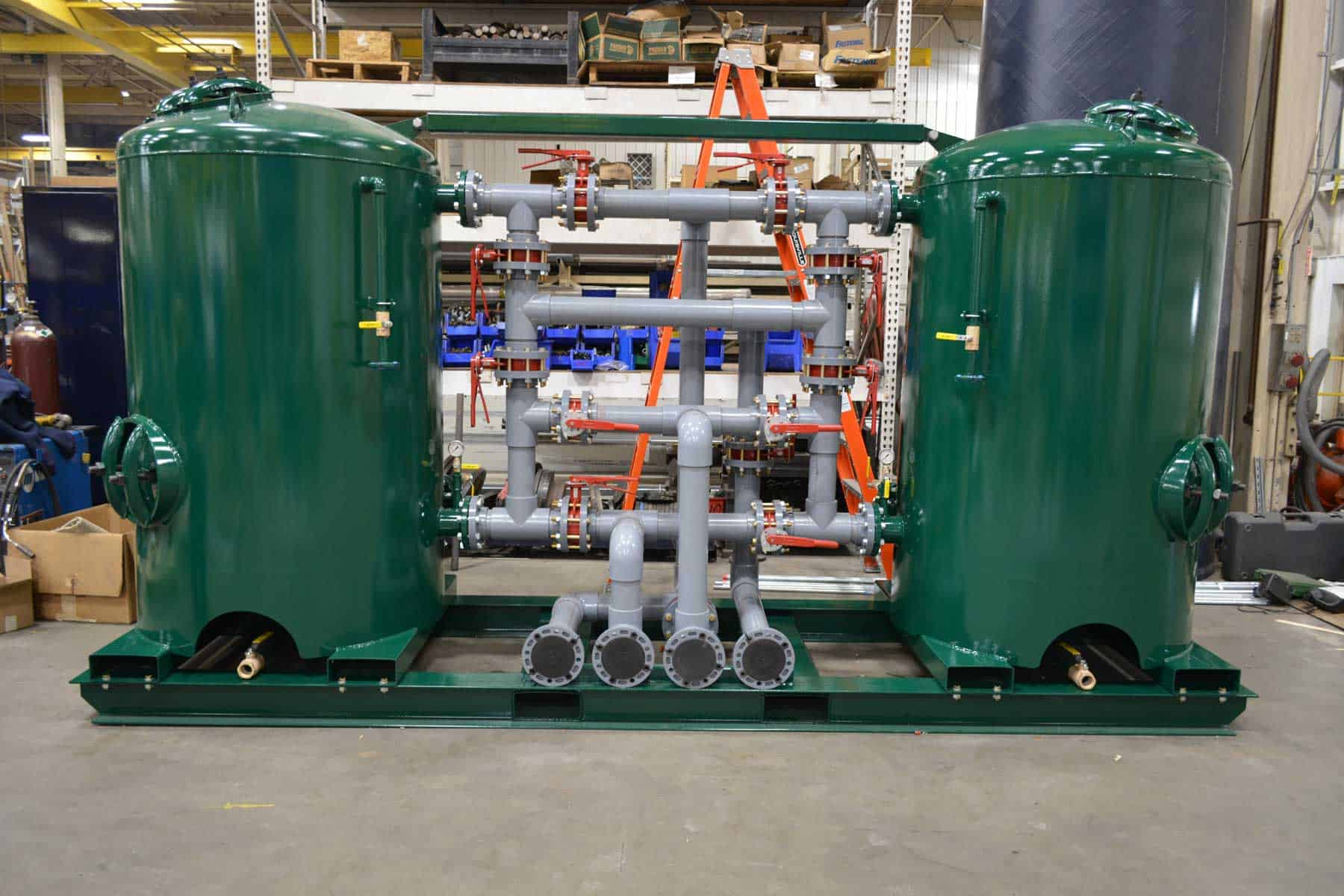 Read more about the article Modular Skid Fabrication Leads to Fast Installation