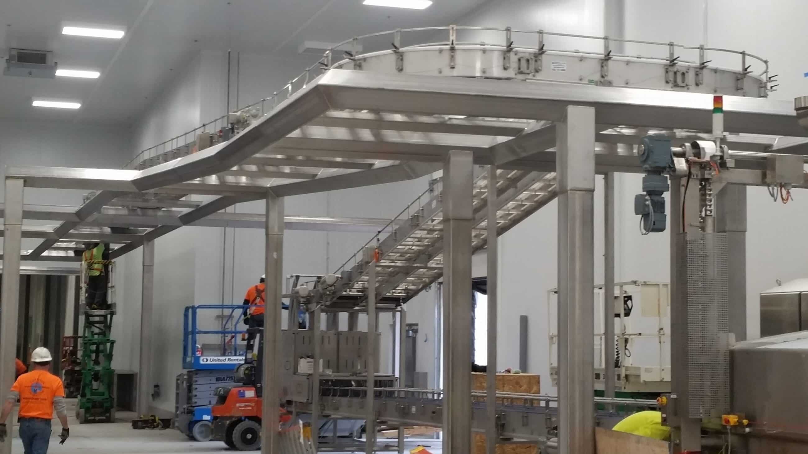 You are currently viewing Robinson's sanitary conveyors help industrial customers stay clean