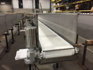 Read more about the article Robinson's packaging conveyor expertise fits food grade needs