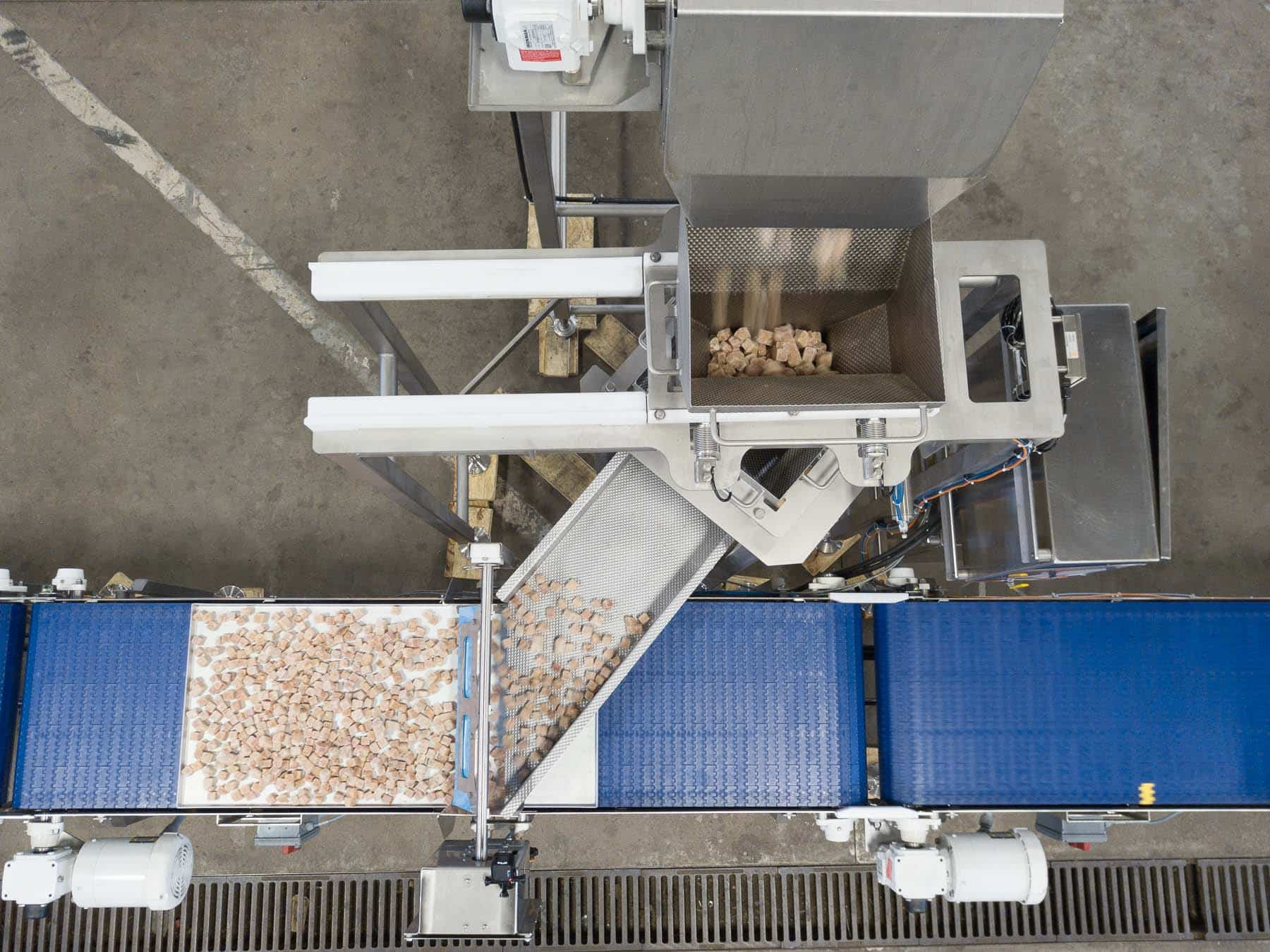 Read more about the article Stainless steel conveyor belts enhance food grade cleanliness
