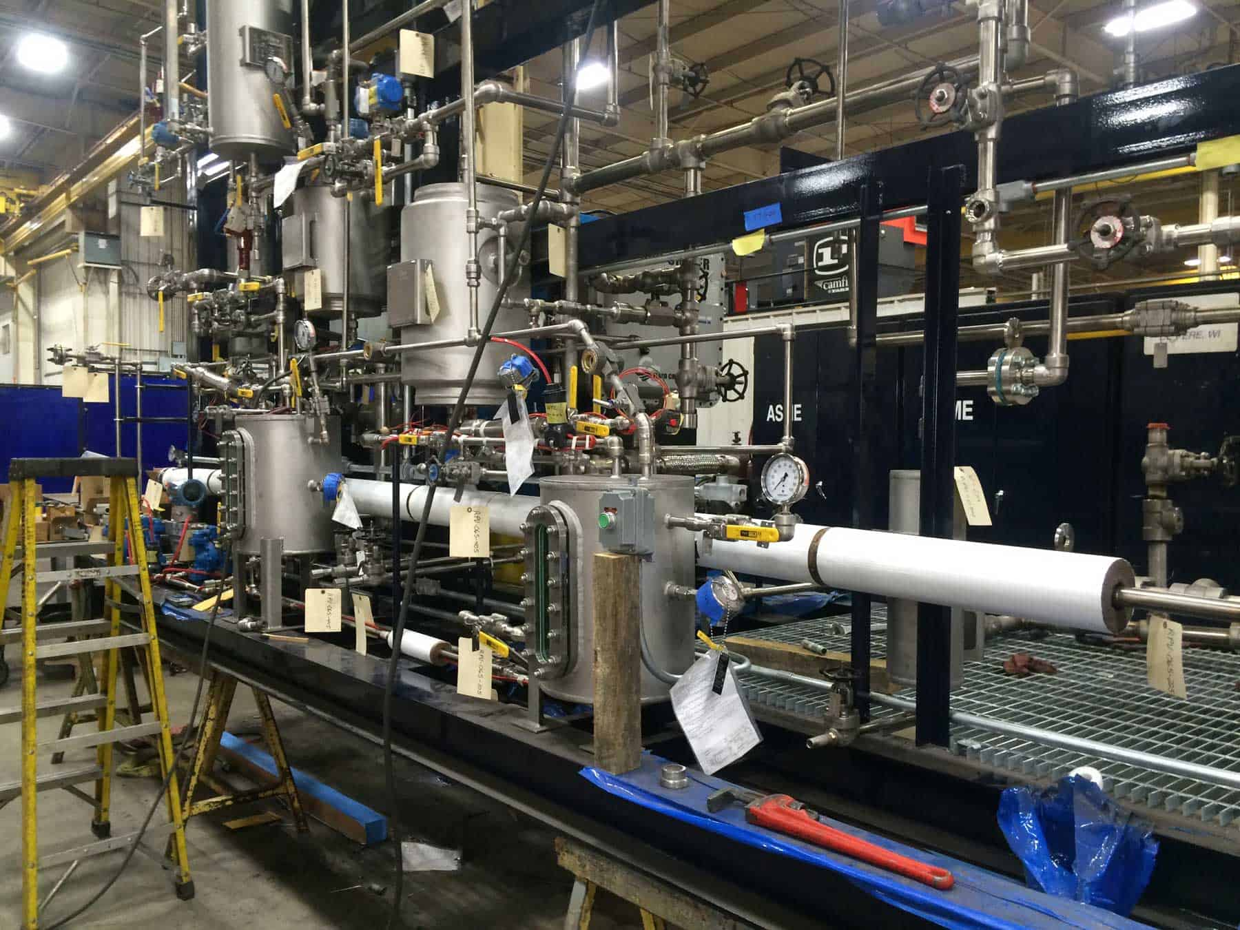 Read more about the article Robinson goes beyond basic stainless tank fabrication